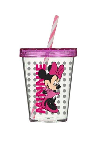 Lisanslı Minnie Mouse Pipetli Bardak