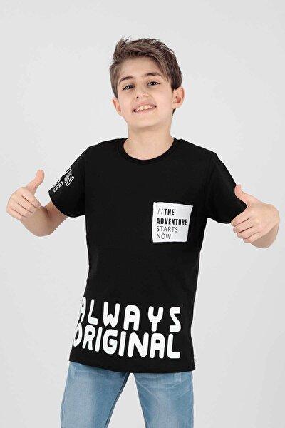 Erkek Çocuk Always Baskılı Tshirt Ak14178