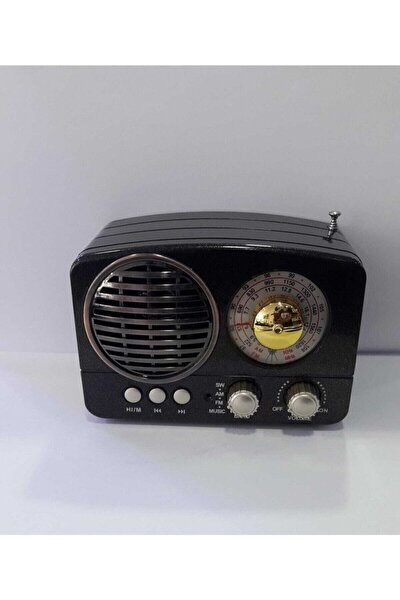 Rt-803 Nostaljik Görünümlü Radyo Bluetooth/fm/am/mp3 Player