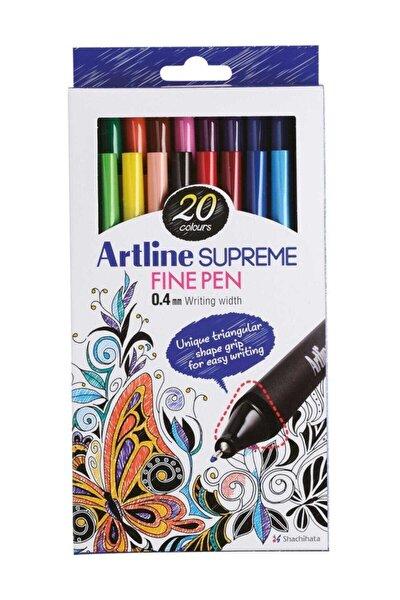 Supreme Fine Pen 0,4 mm 20'li set