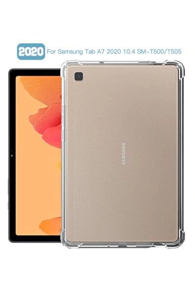 Samsung Galaxy Taba7 10.4 T500 2020 Kılıf Şok Emici Silikon Kapak