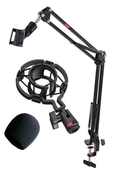 Nb39psm Mikrofon Standı + Shock Mount + Sünger Seti