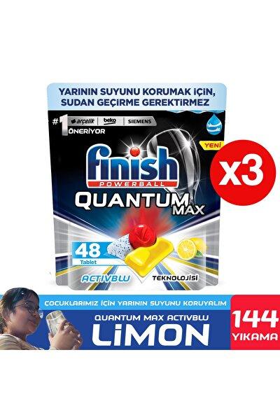 Quantum Max Bulaşık Makinesi Deterjanı 144 Kapsül Limonlu 48 X 3