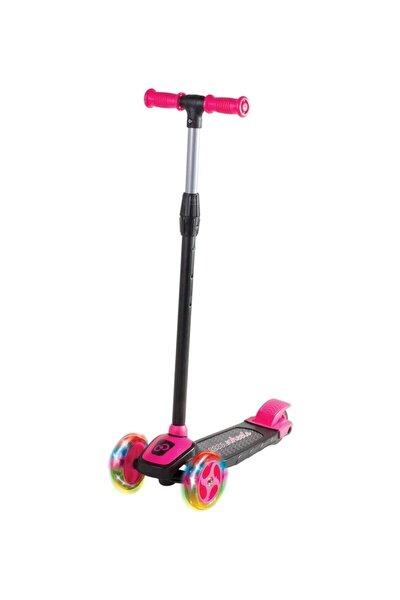 Kız Çocuk Pembe Cool Wheels Led Işıklı 3 Tekerlekli Yükseklik Ayarlı Twist Scooter