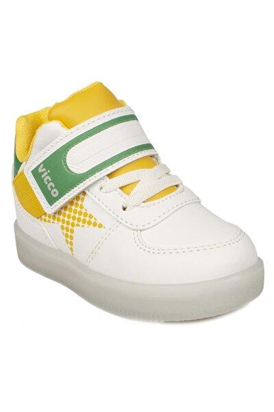 Unisex Çocuk Beyaz 220.b20k.106 Bebe Işıklı  Spor Sneaker