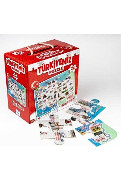 Ca.5079 Türkiyemiz Yer Puzzle