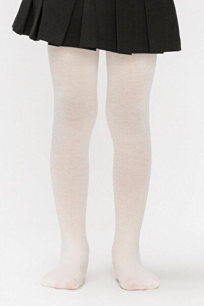 Kız Çocuk Vanilya Pretty Micro 40 Külotlu Çorap
