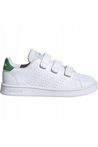 Unisex Çocuk Beyaz Spor Ayakkabı Ef0223 Advantage