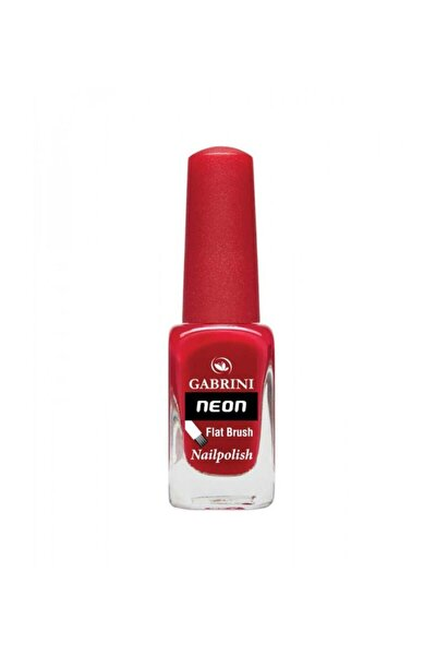 Neon Oje - Flat Brush 11 Bordo 6 ml