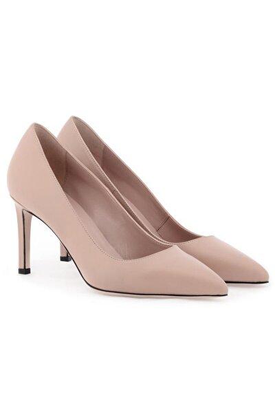 Hakiki Deri Klasik Topuklu Ayakkabı Nsc18y-a57101