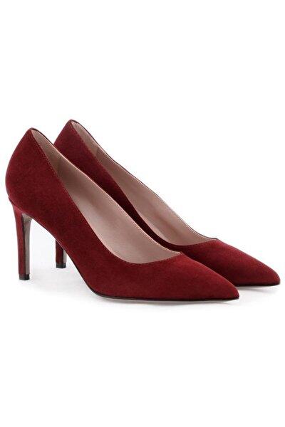 Hakiki Deri Klasik Topuklu Ayakkabı Nsc19y-a57101