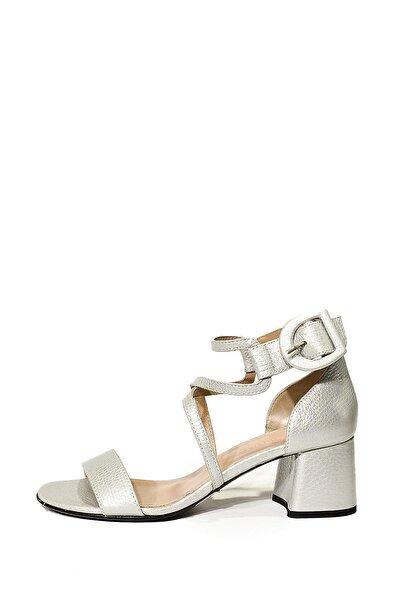 Hakiki Deri Klasik Topuklu Ayakkabı Nsc18y-a51052