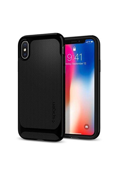 Apple Iphone Xs / Iphone X Neo Hybrid Jet Siyah Kılıf
