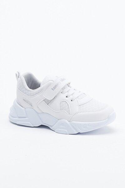 Beyaz Çocuk Spor Ayakkabı Tb0019
