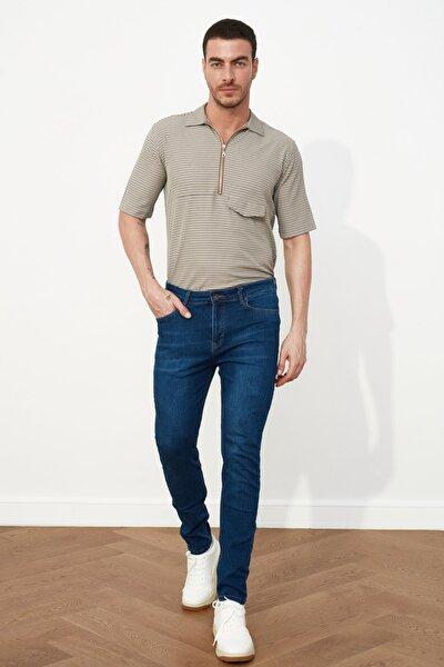 Erkek Tapered Skinny Jeans