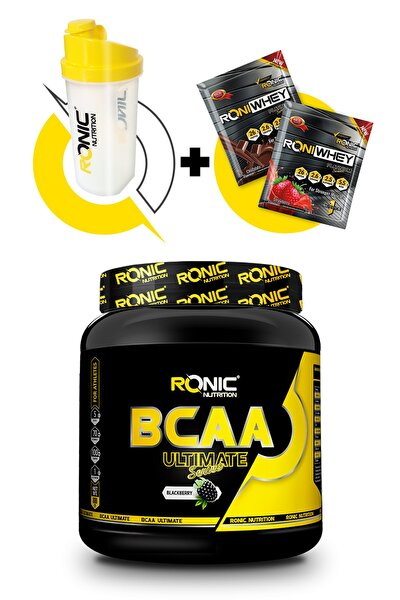 Bcaa Ultimate 4.1.1 800 Gr (böğürtlen Aromalı)