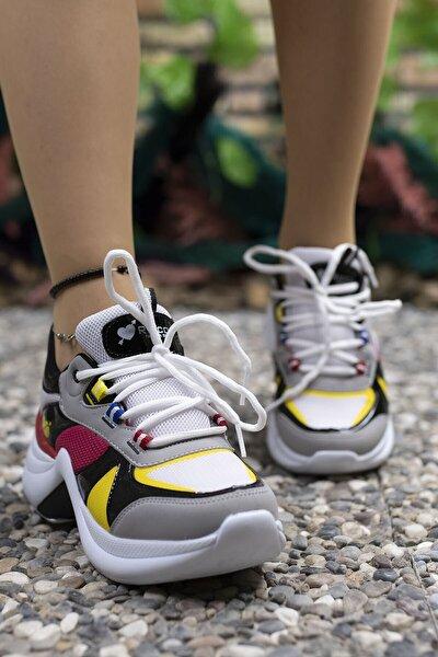 Beyaz Nar Kadın Sneaker 0012601