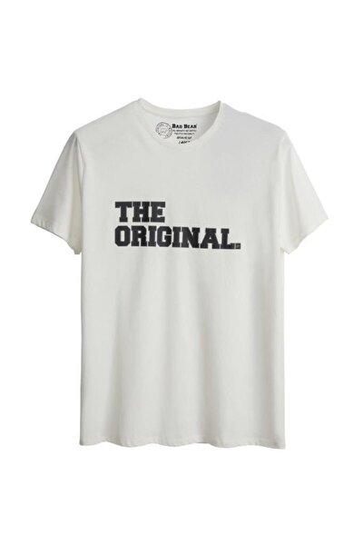 Erkek Beyaz The Orıgınal Tee Baskılı T-shirt