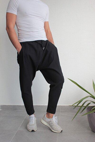 Şalvar Model Pantolon Siyah Renk