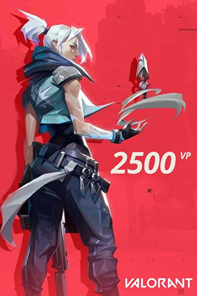 2500 VP Valorant Points Tr