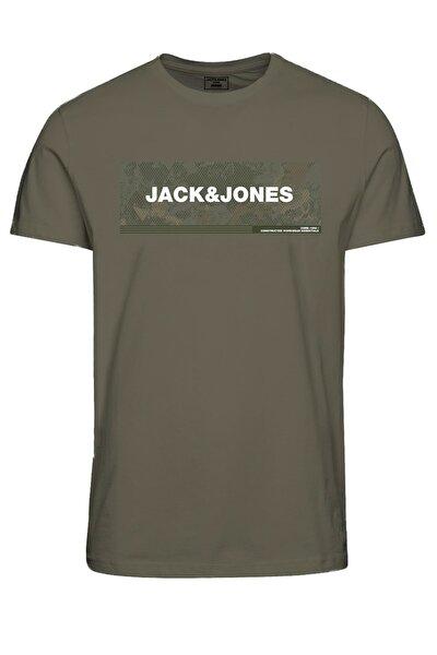 Erkek Haki T-Shirt JCOCAMPA TEE SS FST 12188029