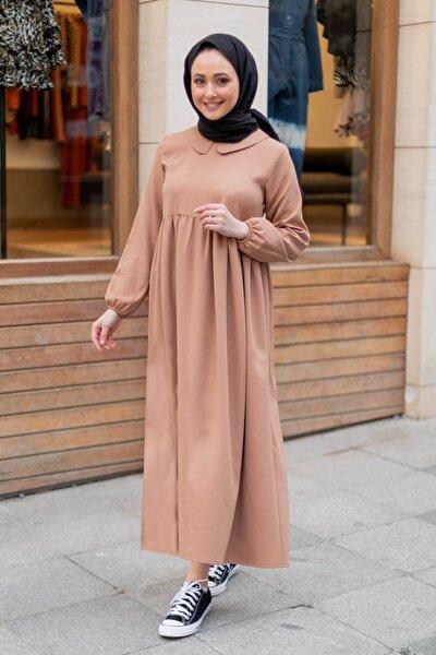 Kadın Camel Elbise