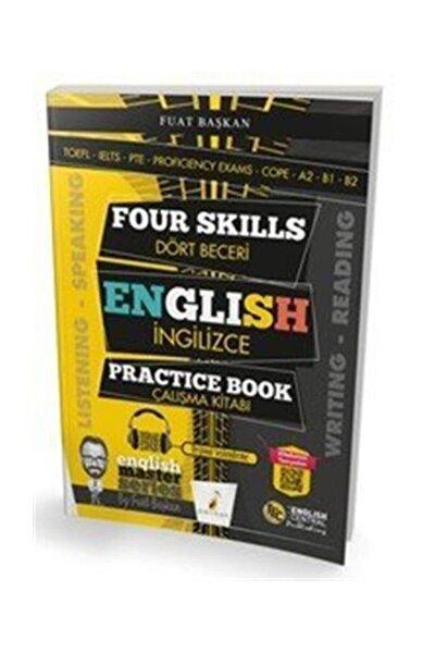 Four Skills English Practice Book Dört Beceri İngilizce Çalışma Kitabı
