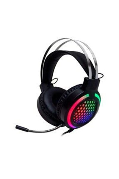 Siyah Deiog E-8250 7.1 Surround Mikrofonlu Rgb Oyuncu Kulaklığı