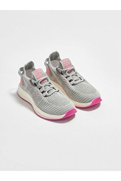 Kadın Gri Aktif Spor Ayakkabı