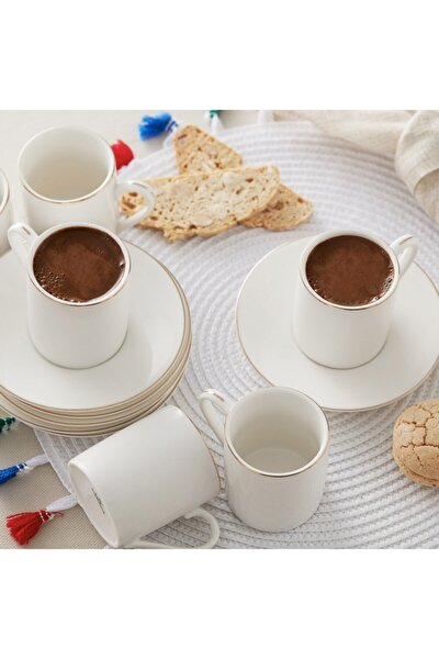 Elda 6 Kişilik Kahve Fincan Takımı
