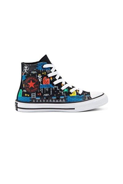 Unisex Çocuk Lacivert Bağcıklı Sneaker