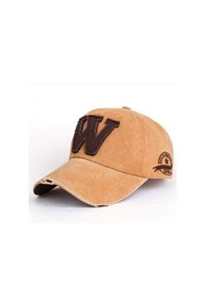 Şapka,cap Şapka, Erkek Kadın Şapka, W Şapka, W Snapback Sarı