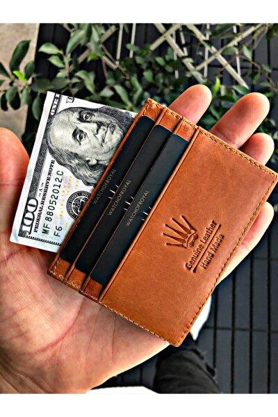 Unisex Kahverengi Card Holder Crazy