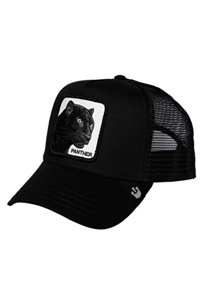 Figürlü Panter Hayvan Model Şapka