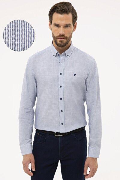 Erkek Lacivert Regular Fit Gömlek G021GL004.000.1113059