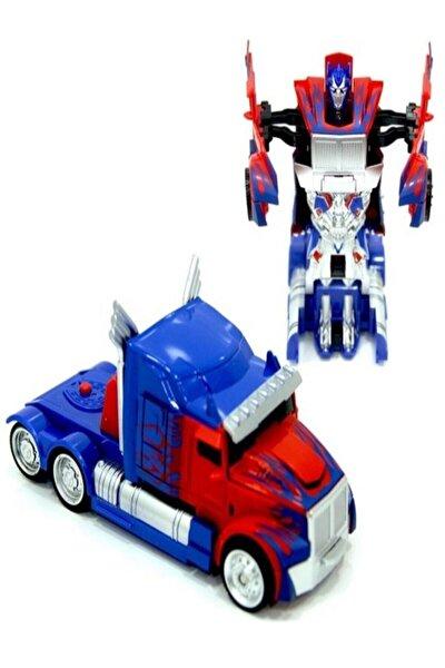 Optimus Prime Transformers Robota Dönüşen Çek Bırak Oyuncak Araba