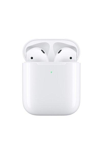 Beyaz Iphone Airpods 2 Wireless Şarj Bluetooth Kulaklık