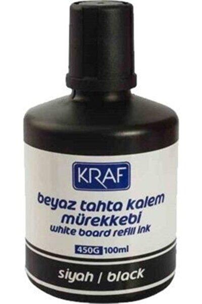 450g 100 ml Beyaz Tahta Siyah Kalem Mürekkebi