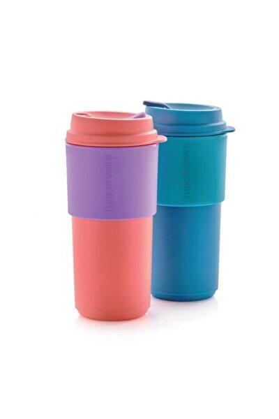 Çay Kahve Taşıma Bardağı 2'li 490 ml