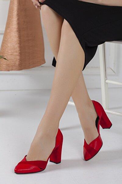 Kadın Kırmızı Loretta Topuklu Ayakkabı
