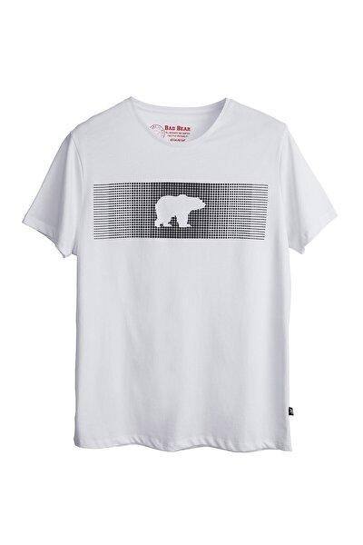 Erkek Kırık Beyaz Tişört Fancy T-shırt