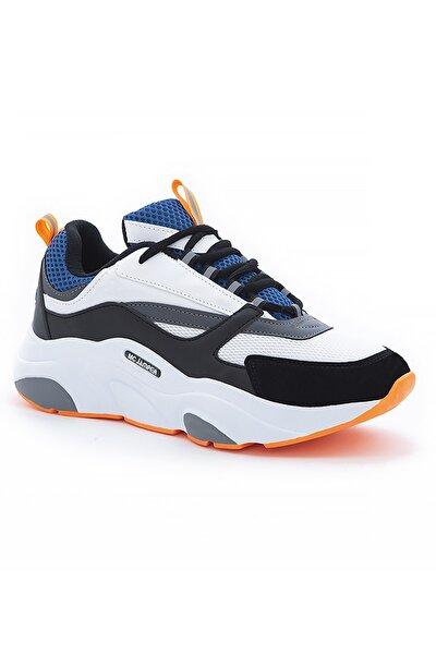 Kadın Siyah Beyaz Yürüyüş Ayakkabısı