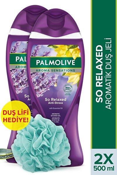 Aroma Sensations So Relaxed Aromatik Banyo Ve Duş Jeli 2 X 500 ml + Duş Lifi Hediye