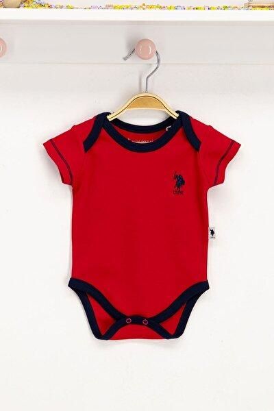 Erkek Bebek Kırmızı Lisanslı Body Zıbın