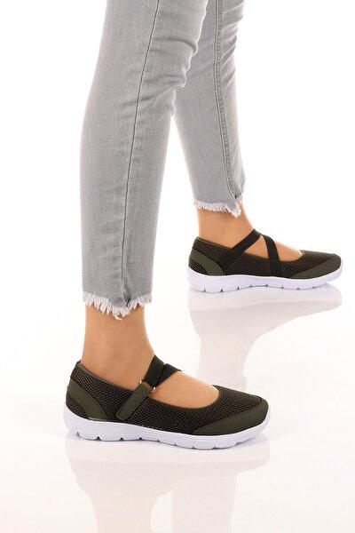 Kadın Günlük Rahat Eva Ortopedik Taban Spor Ayakkabı Sneaker Soby11020028