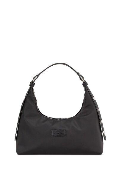 Kadın Siyah Baguette Çanta 205