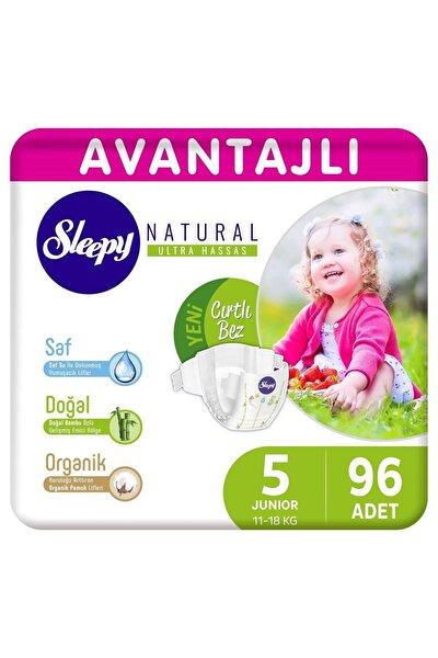 Natural Avantajlı Bebek Bezi 5 Numara Junior 96 Adet