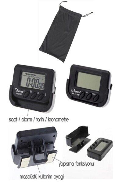 Mastercar Mini Dijital Saat Tarih Kronometre Göstergesi
