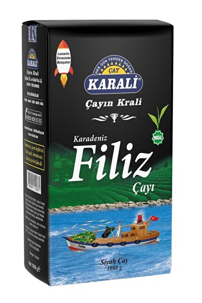 Karali Karadeniz Filiz Dökme Çay 1 kg