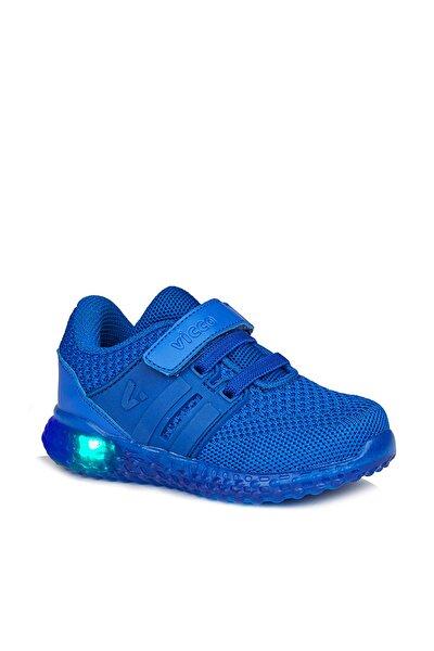 Flash Erkek Çocuk Saks Mavi Spor Ayakkabı